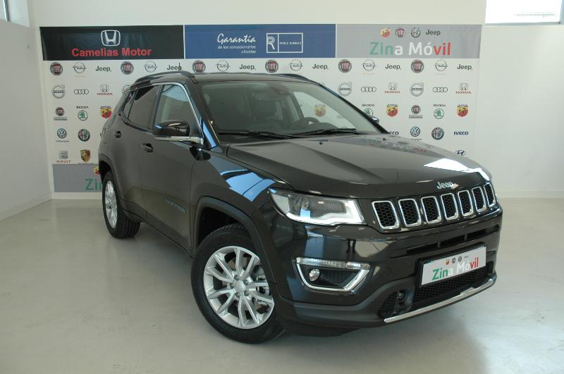 Coche de ocasión jeep compass 1.3 phev 140kw 190cv limited at awd
