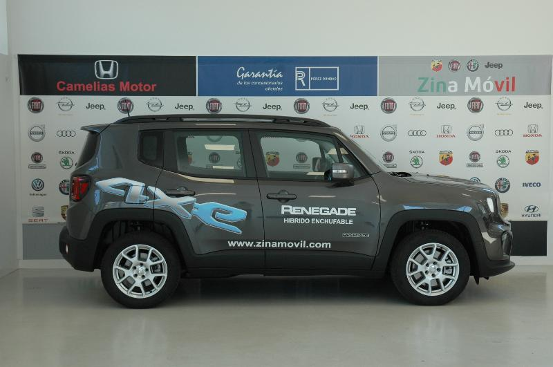 Coche de ocasión jeep renegade limited 1.3 phev 140kw 190cv at awd