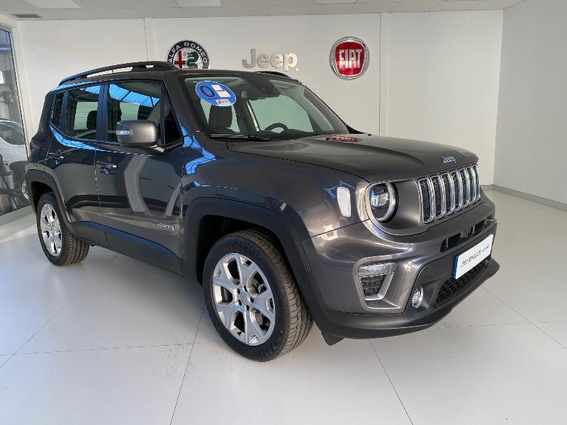 Coche de ocasión jeep renegade limited 1.3 phev 140kw (190cv) at awd